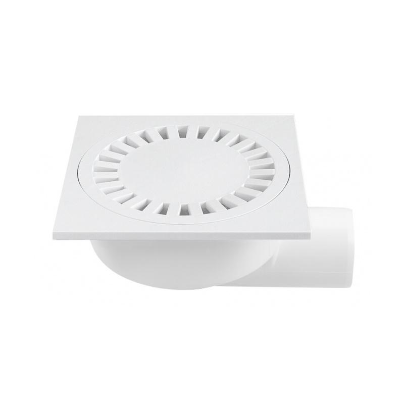 Podlahová vpusť boční PVB DN 50 bílá - 1