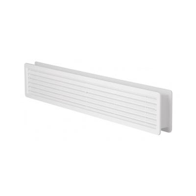 Větrací mřížka dveřní 500x90 bílá (balení 2ks) - 1
