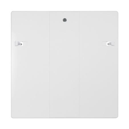 Revizní dvířka 600x600 se zámkem bílá - 2