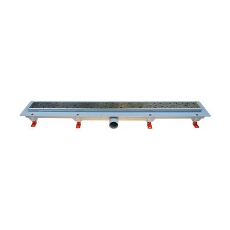 Podlahový lineární žlab 650 mm square mat - 1