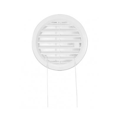 Větrací mřížka kruhová uzavíratelná 110 bílá - 1