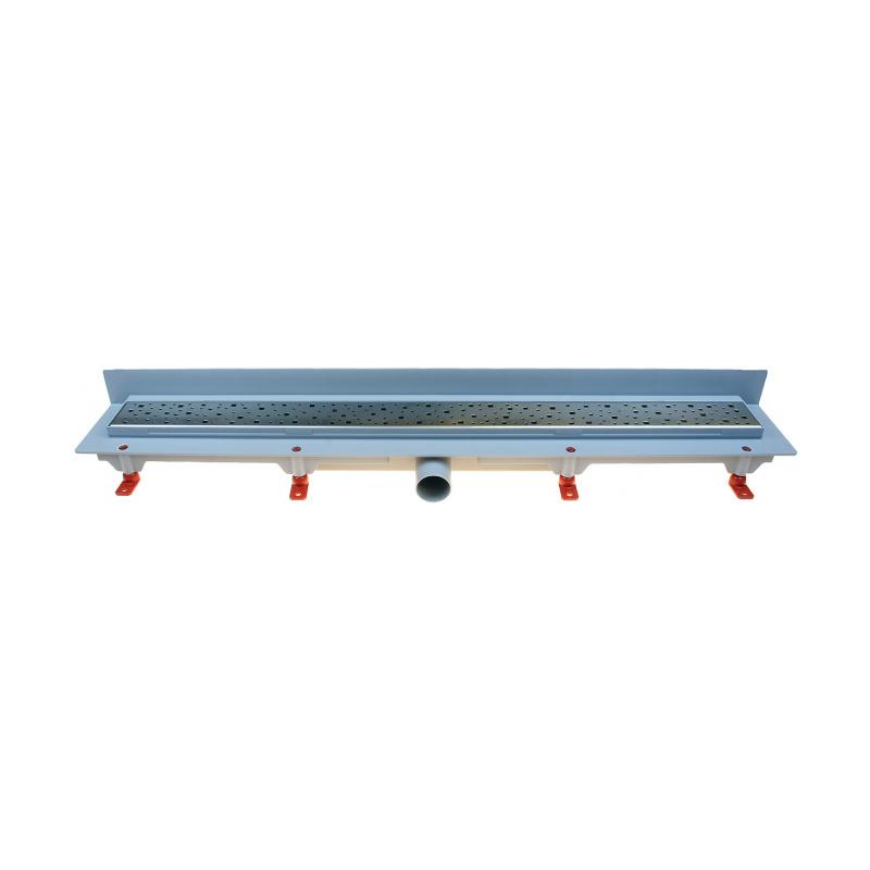Podlahový lineární žlab ke stěně 750 mm square mat - 1
