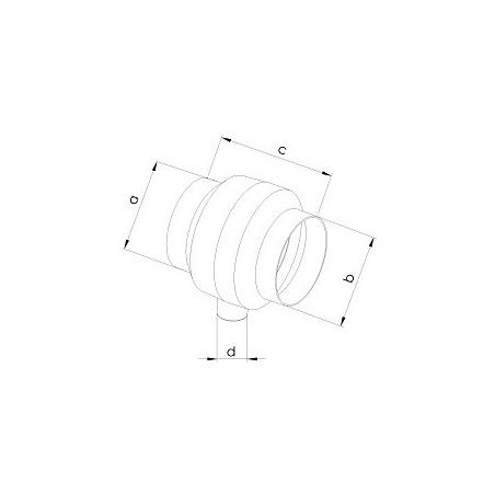 Sběrač s odvodem kondenzátu SBK 100 - 2