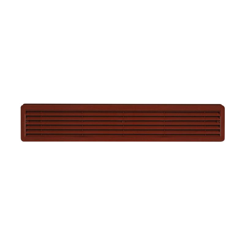 Větrací mřížka dveřní 500x90 hnědá (balení 2ks) - 1