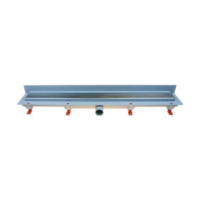 Podlahový lineární žlab ke stěně 750 mm klasik mat - 1