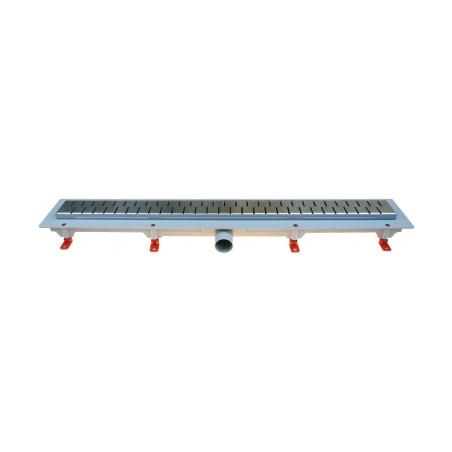 Podlahový lineární žlab 650 mm medium mat - 1