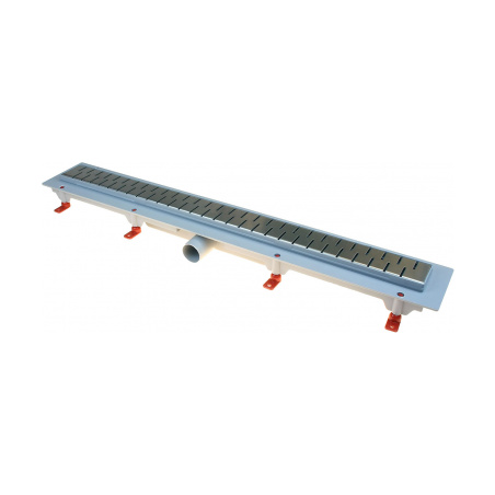 Podlahový lineární žlab 650 mm medium mat - 2