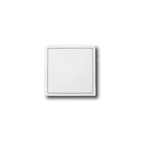 Revizní dvířka kovová 300x300 s tlačným zámkem bílá - 7