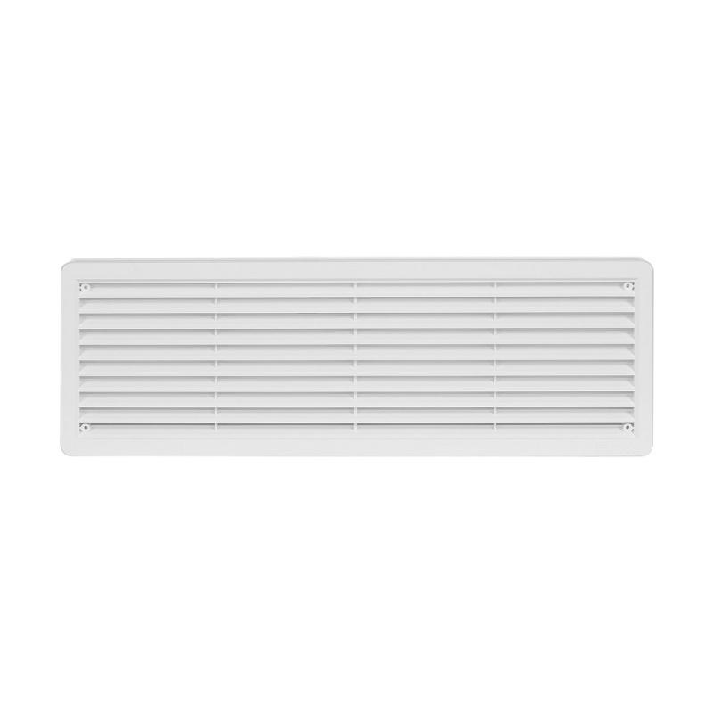 Větrací mřížka dveřní 400x130 bílá (balení 2ks) - 1