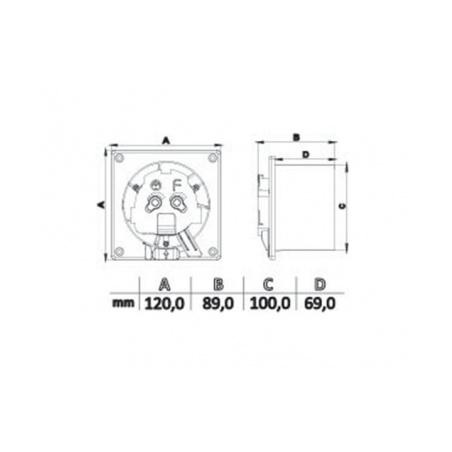 Axiální ventilátor AV DRIM 100 T - 5