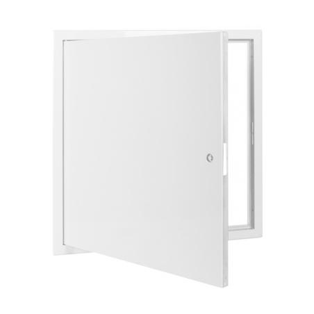 Revizní dvířka kovová bílá 500x500 - 3