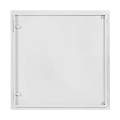 Revizní dvířka kovová bílá 800x800 - 2