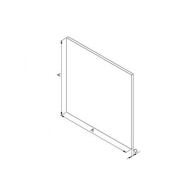Panel hliníkový broušený AV DRIM - 2