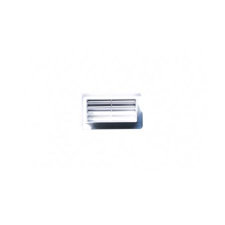 Větrací mřížka 110x55 bílá - 2