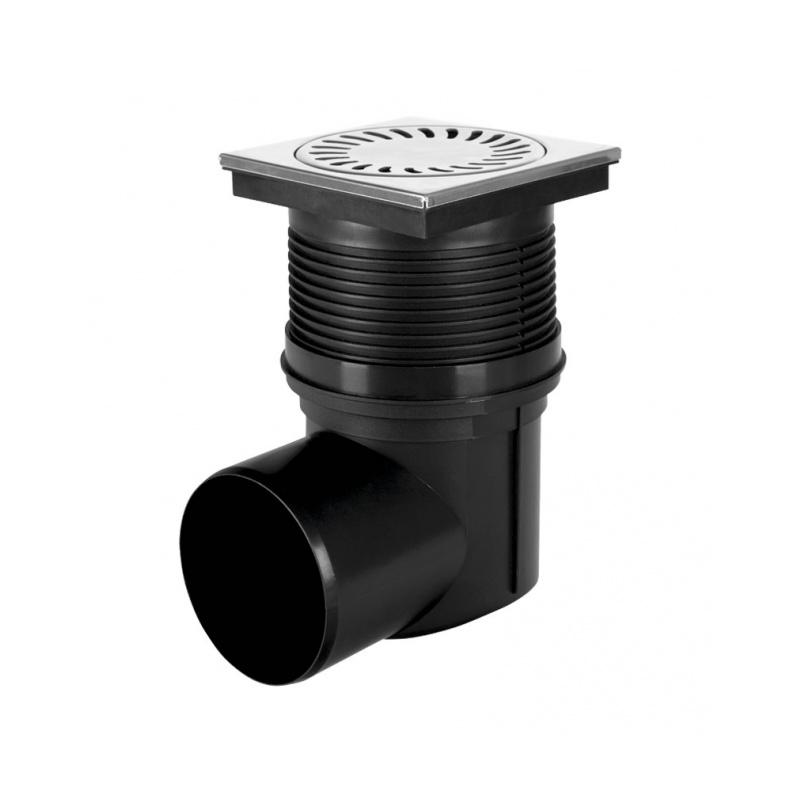 Kanalizační vpusť boční KVB DN 110 nerez - 1