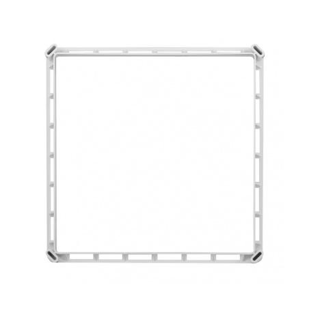 Nerezová větrací mřížka s rámečkem a síťovinou 250x250 - 4
