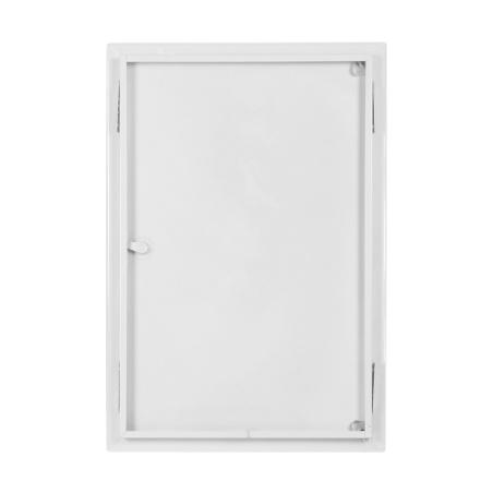 Revizní dvířka kovová bílá 400x600 - 2