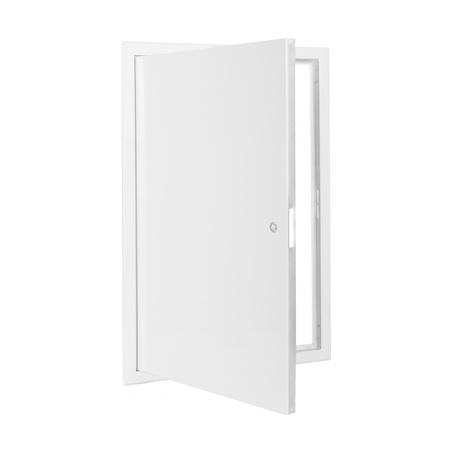 Revizní dvířka kovová bílá 400x600 - 3