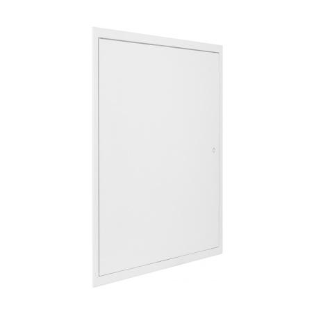 Revizní dvířka kovová bílá 400x600 - 4
