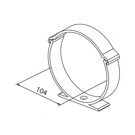 Držák kanálu UMO 104 (balení 2ks) - 3