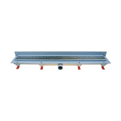 Podlahový lineární žlab ke stěně 650 mm square mat - 1