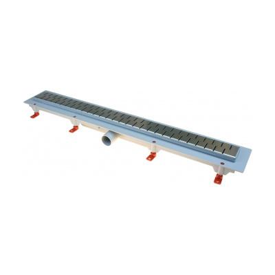 Podlahový lineární žlab 850 mm medium mat - 2