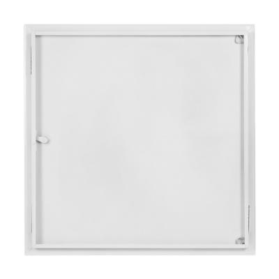 Revizní dvířka kovová bílá 600x600 - 2