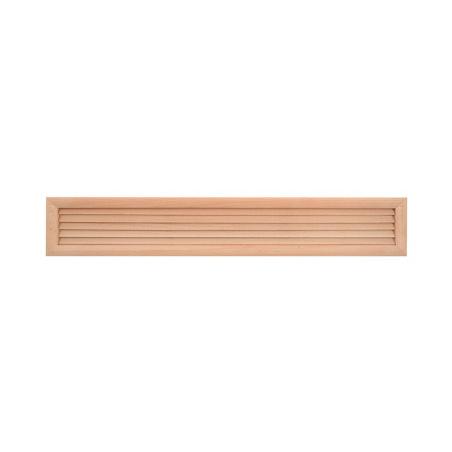 Dřevěná větrací mřížka dveřní 500x90 - 1