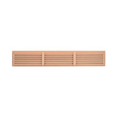 Dřevěná větrací mřížka dveřní 500x90 - 2