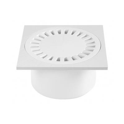 Podlahová vpusť PV DN 50/84 bílá - 1