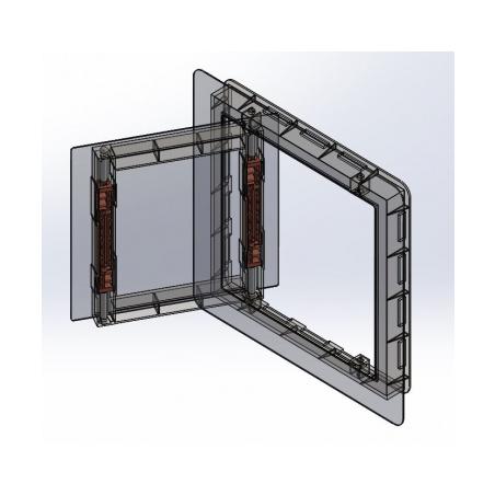 Nerezová dvířka Exkluziv 200x200 - 10