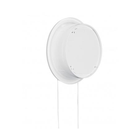 Větrací mřížka kruhová uzavíratelná 110 bílá - 3