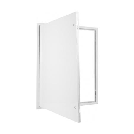 Revizní dvířka kovová bílá 600x800 - 4