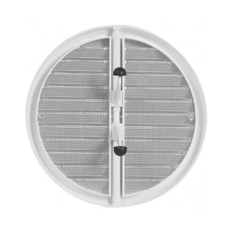 Větrací mřížka se síťovinou - krytka stavitelná 125-160 bílá - 3