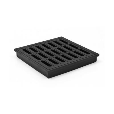 Mřížka plastová 150x150 - černá pro KVB - 1