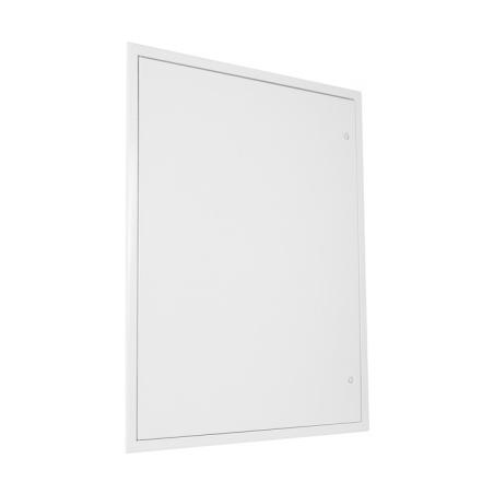 Revizní dvířka kovová bílá 600x800 - 3