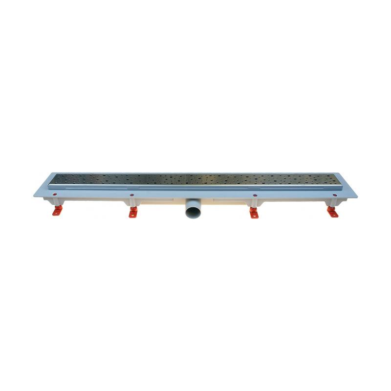 Podlahový lineární žlab 750 mm square mat - 1