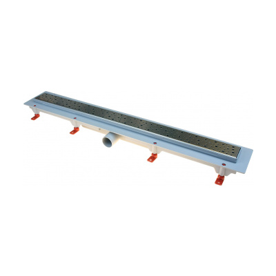 Podlahový lineární žlab 750 mm square mat - 2