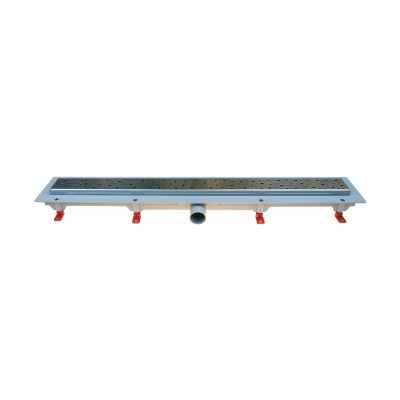 Podlahový lineární žlab 850 mm square mat - 1