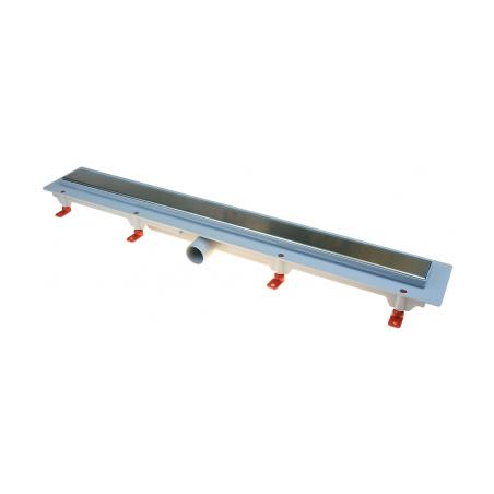 Podlahový lineární žlab 650 mm klasik mat - 2