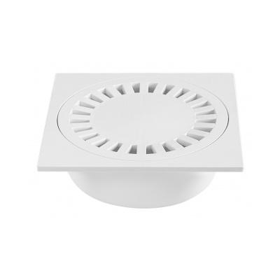 Podlahová vpusť PV DN 50/55 bílá - 1