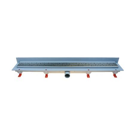 Podlahový lineární žlab ke stěně 850 mm square mat - 1