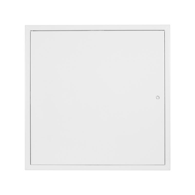 Revizní dvířka kovová bílá 500x500 - 1