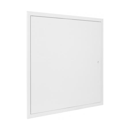 Revizní dvířka kovová bílá 500x500 - 4