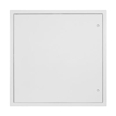 Revizní dvířka kovová bílá 800x800 - 1