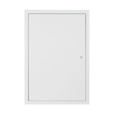 Revizní dvířka kovová bílá 400x600 - 1
