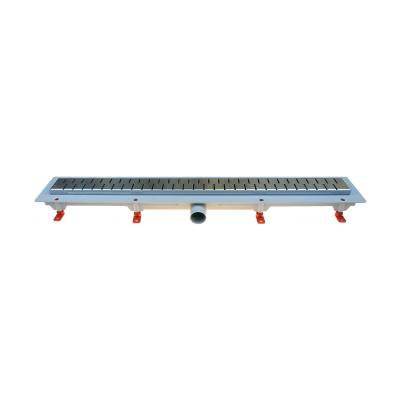 Podlahový lineární žlab 750 mm medium mat - 1