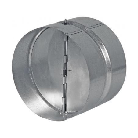 Zpětná klapka kovová ZKK 125 - 1
