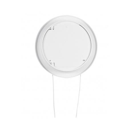 Větrací mřížka kruhová uzavíratelná 110 bílá - 2