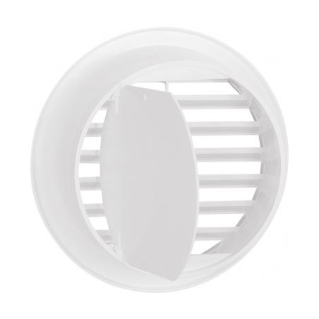 Větrací mřížka kruhová uzavíratelná 110 bílá - 5